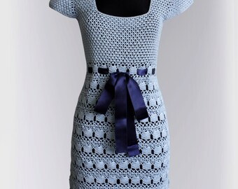 Crochet  Dress Pattern No 239