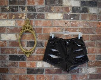 Vintage Destroyed Levis Cutoff Shorts