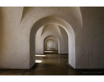 Architecture Photography, Old San Juan, Puerto Rico, San Juan Photography, Puerto Rico Art, Travel Photography, Minimalist Art, Beige Art