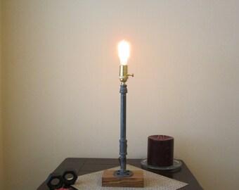 Industrial Lighting, Edison Lighting, Steampunk Lighting, Steampunk Lamp, Desk lamp, Industrial Lamp, Edison Lamp, Brass Lamp, Table Lamp,
