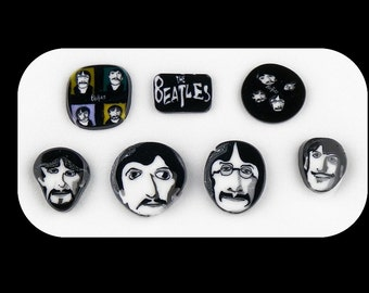 Beatles by Greg Chase Murrine Boro Coins - 104