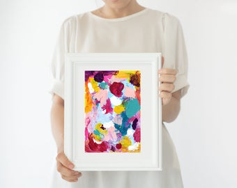 Colorful Abstract painting, wall decor, home decor, wall art, Original acrylic painting, abstract art, original painting, wall art, Painting