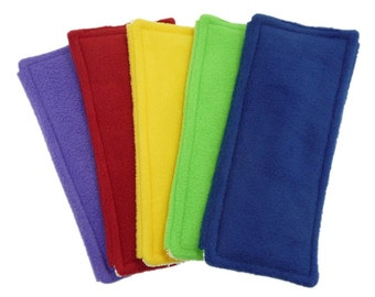 3 Pads for Swiffers. FLEECE & TERRY Double Sided Reusable Swiffer Pads, Washable Swiffer Pad, Eco-Friendly Swiffer pad, Swiffer Dust and Mop