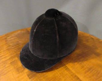 Cromwell vintage English riding helmet