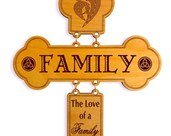 Housewarming Gift - Gift for Couple New Home Housewarming - House Warming Personalized Gift - Family Gift - Wall Cross