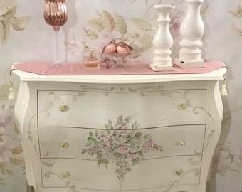 Decorated chest dresser
