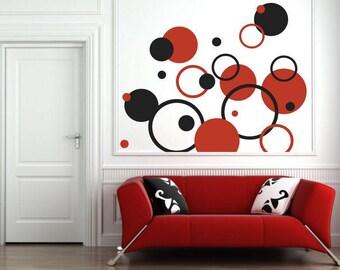 Wall sticker - Circles (051n)