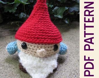 Roamin Gnome Amigurumi Crochet Doll PDF Pattern