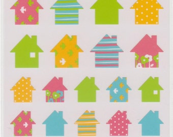 Home Stickers -  House Stickers - Mind Wave Stickers - Reference A2056-57