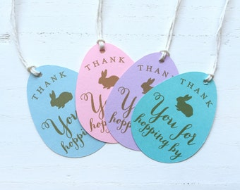 12 Custom Colors Some Bunny is turning One Spring Birthday Thank You Favor Tags - Easter Birthday Bunny Party