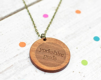 Yorkshire Puds Necklace | Yorkshire Jewellery | Nickel Free