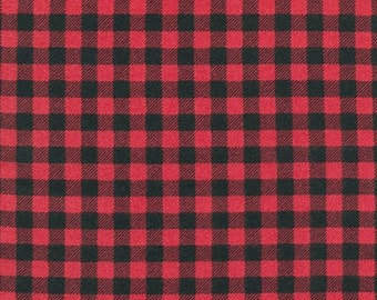 Flannel 100% Cotton Fabric Burly Beavers Flannel by Andie Hanna.