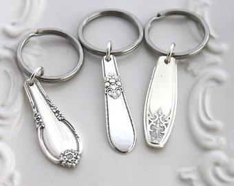Silverware Key Holder Key Chain Key Ring - Lady Doris 1929 - Ready To Ship - USA Made