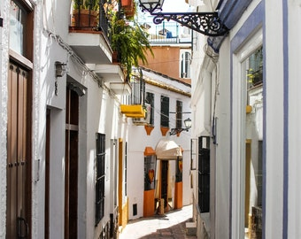 Romantic Alley in Marbella | Spain Photography