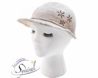 cap, Natural straw cap, woman cap, summer cap woman, straw hat style cap, summer hat, golf cap, cap