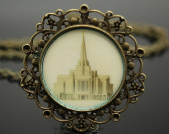 Sale!!  Gilbert Temple necklace, pendant, key chain or locket. FREE SHIPPING!!!