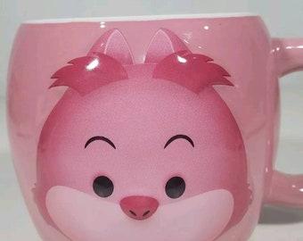 Disney coffee mug Cheshire Cat Alice in wonderland Tsum Tsum cup