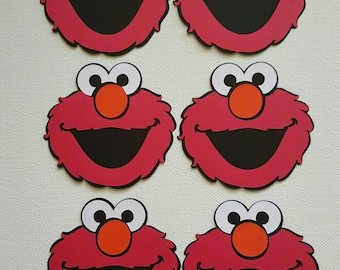 Elmo Die Cuts Set of 6