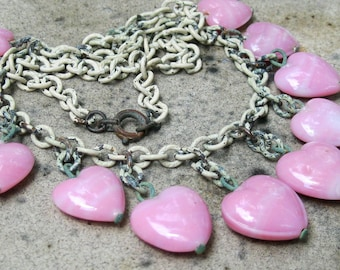 SWEET Shabby Chic Antique Necklace