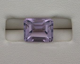 9 x 7 emerald cut amethyst gem stone gemstone 9mm x 7mm