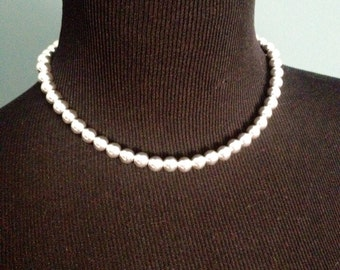 Single Strand Necklace, Sterling Silver