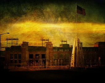 Lambeau Field - Green Bay Packers - Fine Art Photograph - Home Decor, Packers Decor, Packers Art
