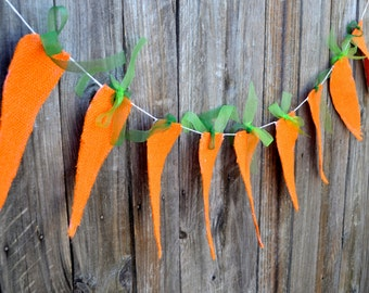 Easter Banner Carrots Photo Prop