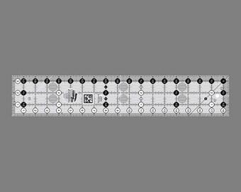 "Creative Grids 3 1/2"" x 18 1/2"" Ruler - #CGR318"