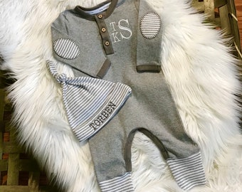 Newborn Boy Coming Home Outfit, Newborn Boy Going Home Outfit, Newborn Boy Take Home Outfit,  Newborn Boy Gift, Newborn Baby Boy Outfit