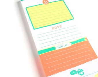 Colorful To Do Notepad