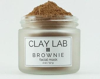 BROWNIE Clay Facial Mask