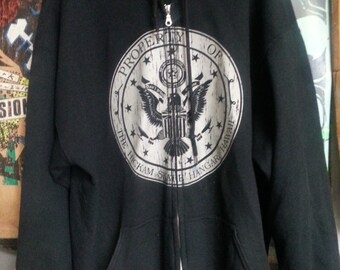 "HSH OG ""Stressed"" Zip Up Hoodie"