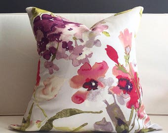 Pillow Cover, Floral Pillow Cover, REBECCA