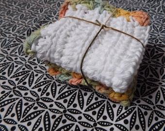 Cotton washcloth set
