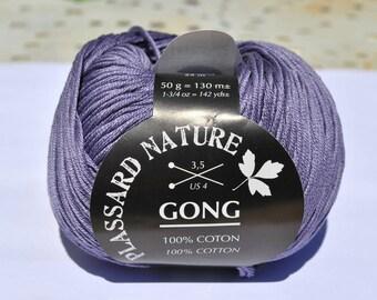 cotton gong plassard Lavender 022