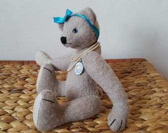 "Sophia - 29 cm (11.4"") traditional OOAK artist bear Easter Sale Price!"