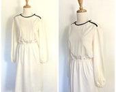 Vintage 1970s Dress - cre...