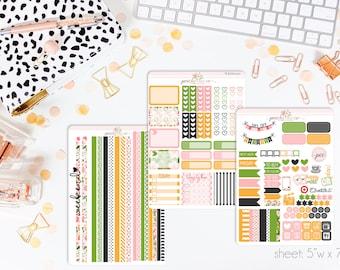 Zelda HORIZONTAL Weekly Kit // 130+ Matte Planner Stickers // Perfect for your Erin Condren Life Planner // WKH0120