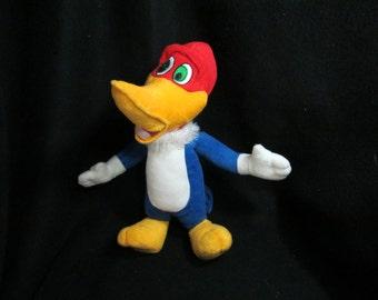 Woody Woodpecker - Plush stuffed animal - Edward Mobley - Woodpecker - stuffed animals -  cartoon character  -   # 1
