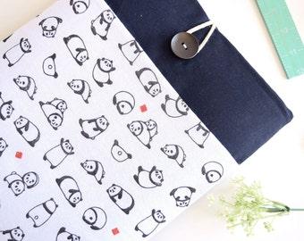 Panda Laptop Sleeve Pandas Laptop Case Computer Sleeve Computer Case Computer Cover Padded with Pocket - Panda Bears