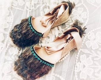 Handmade Leather Sandals, Boho Sandals, Greek Leather Sandals, Espadrilles, Handmade Summer Shoes, Made to Order,  ''Caribbean Nights''