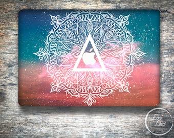 Mandala Macbook Decal / Vinyl Sticker / Macbook Air case / Stickers Macbook pro / Macbook pro 13 skin / Macbook Air skin / EL048