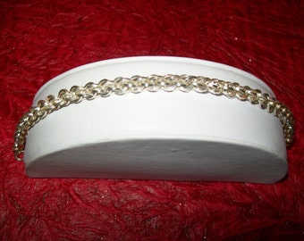 Square JPL Chainmaille Bracelet