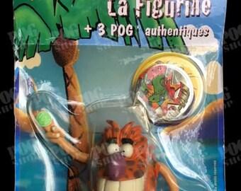 Pogs 1995 Sealed Pogman La Figurine French Avimage - SUPER ULTRA RARE