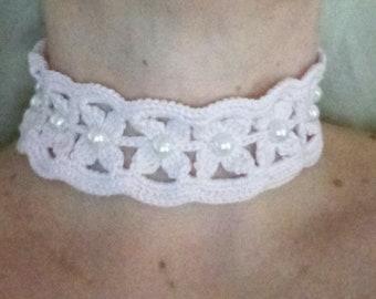 Crochet Chocker Necklace