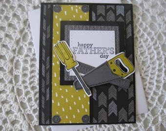 Handmade Greeting Card: Happy Father's Day (Handyman Themed)