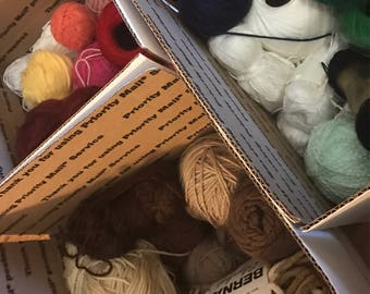 Destash Yarn Box