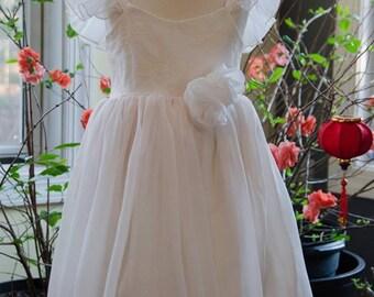 Ivory Rose - Flower girl dress