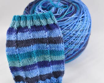 "Self-Striping Yarn - ""Singin' the Blues"""