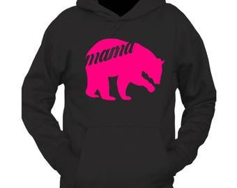 tee shack mama bear hoodie
